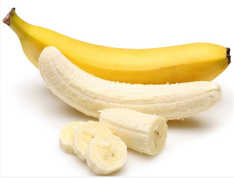 Secado al vacío por microondas de rodajas de plátano.