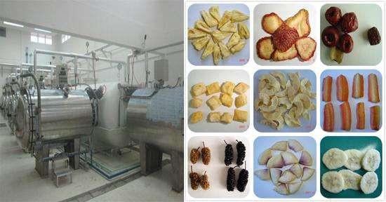 Perspectiva de la tecnología de secado y secado para frutas y verduras.