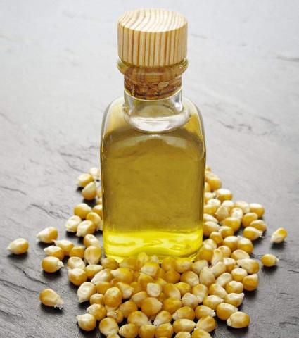 Proceso de extracción de aceite de maíz.