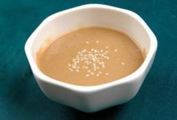 Efecto del emulsionante sobre la estabilidad de la pasta de sésamo.