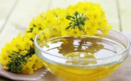Dos nutrientes bajos en aceite de colza.