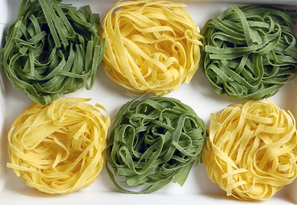 Producción de fideos cocidos y extrusionada máquina de pasta inflada.(3)
